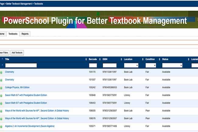 Better Textbook Management screenshot